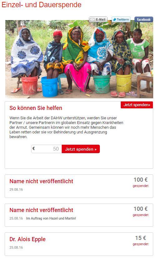 screen Kampagne