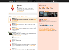 Altruja Online Spenden - Twitter Account