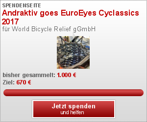 Andraktiv goes EuroEyes Cyclassics 2017