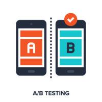 A/B testing Altruja