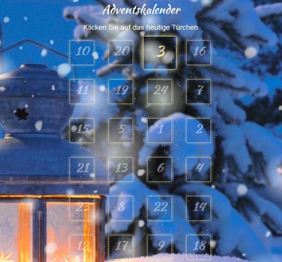 Der Altruja-Adventskalender - 24 Spendenüberraschungen für Ihre Unterstützer