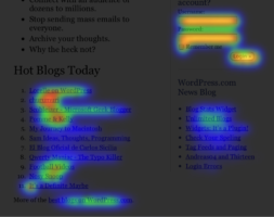 Content Marketing Open Web Analytics Heat Map