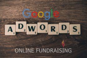 Google ADWORDS online fundraising