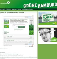 Gruene Hamburg Altruja Parteispenden