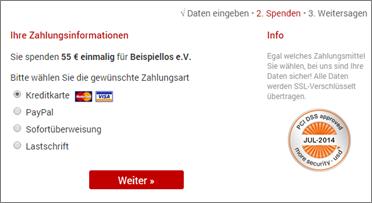 PCI-DSS im Spendenprozess - Sicher online Spenden sammeln mit Altruja