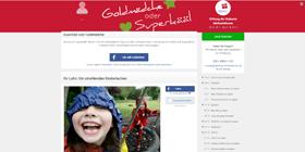 Altruja Spark -Spendenaktion mit Altruja - Beispiel