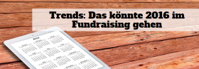 Trends Fundraising 2016