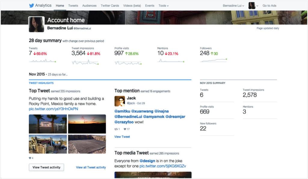Twitter Analytics: Twitter für Organisationen