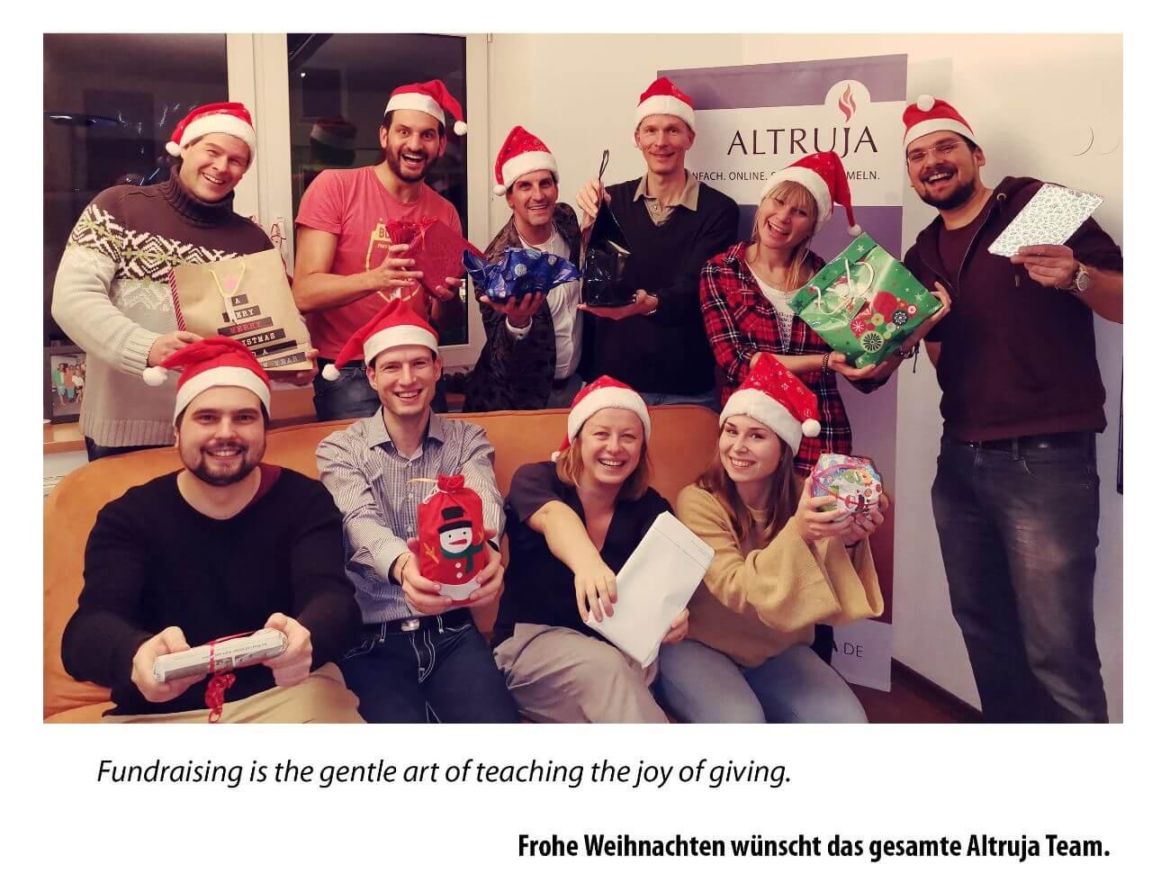 Altruja wünscht frohe Weihnachten