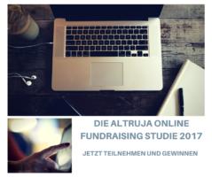 Altruja Online Fundaising Studie 2017