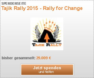 Tajik Rally 2015 - Rally for Change