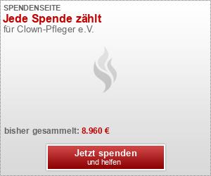 Clownpfleger - Ihre Spende hilft