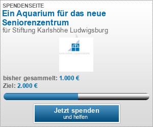 Ein Aquarium für das neue Seniorenzentrum