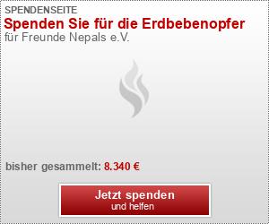 Spenden Sie für die Erdbebenopfer