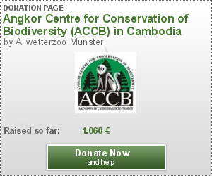 Angkor Centre for Conservation of Biodiversity (ACCB) in Cambodia