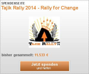 Tajik Rally 2014 - Rally for Change