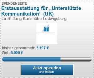 """Erstausstattung für """"Unterstützte Kommunikation"""" (UK)"""