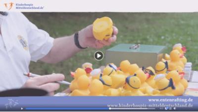 Erfolgreiche Fundraising Beispiele Kinder- und Jugendhospiz Mitteldeutschland Entenrafting 2018