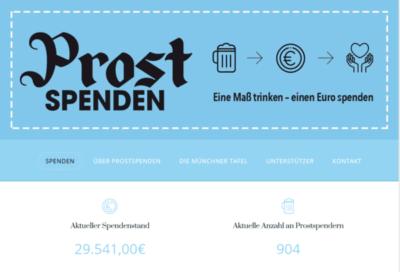 Erfolgreiche Fundraising Beispiele Münchner Tafel e.V. Prostspenden
