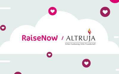 RaiseNow & Altruja News
